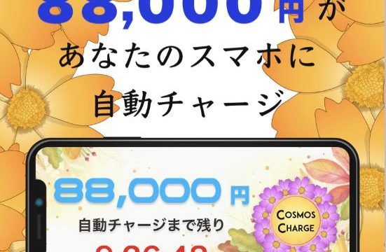 COSMOS CHARGE(コスモスチャージ)は詐欺?本当に毎日88,000円稼げる?登録して調べてみました3