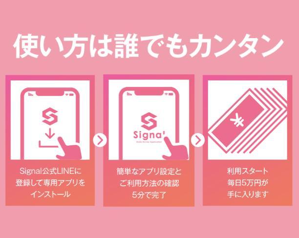 Signal(シグナル)5Gは詐欺?本当に毎日5万円稼げる?調べてみました3